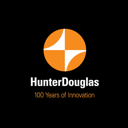 Hunter Douglas 100 Year logo