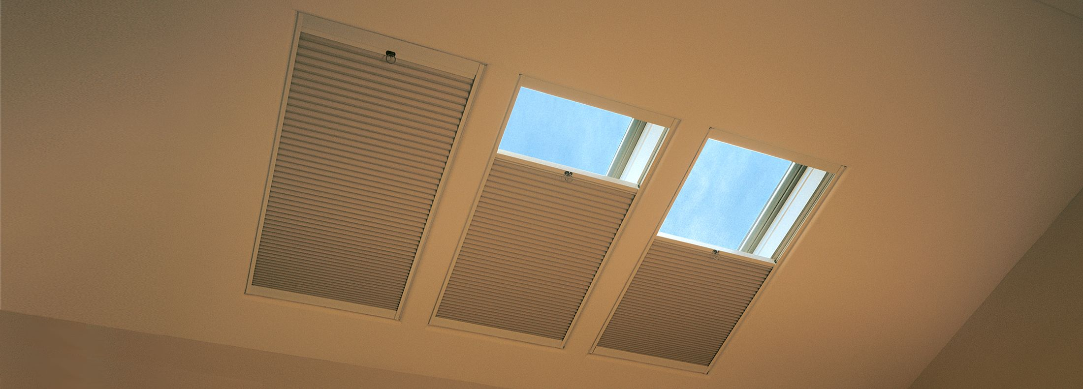 Simplicity Motorized Skylight Shades Hunter Douglas