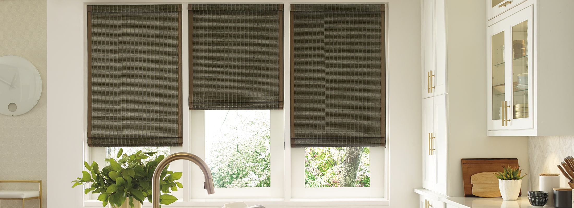 Bamboo blinds in Mindanao Graphite - Provenance