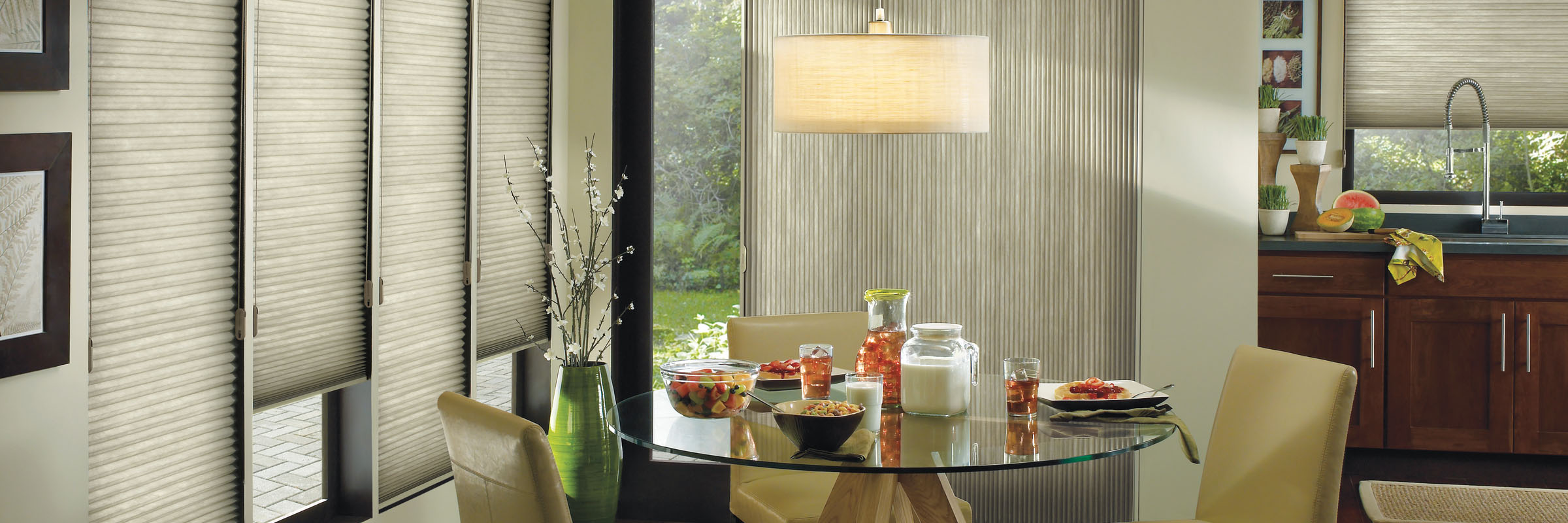 Cellular blinds in Sunterra™ Driftwood - Applause