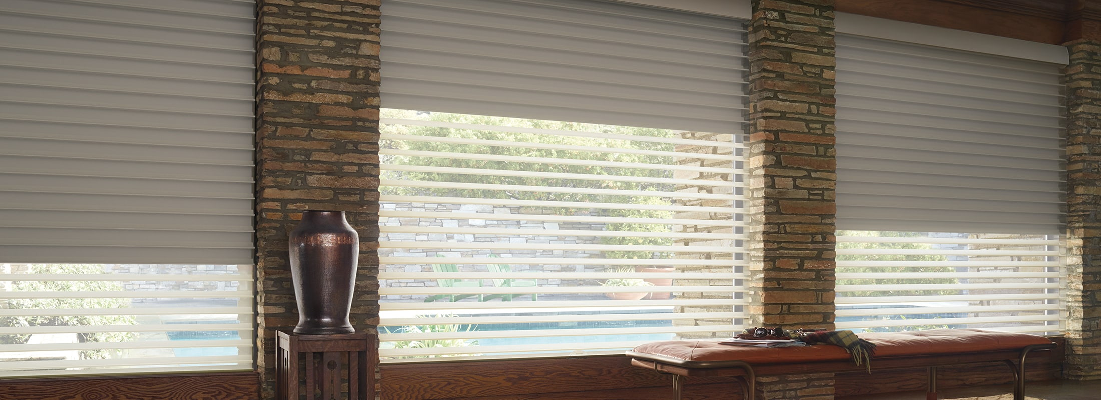 Manually Operated Window Blinds & Shades | Hunter Douglas