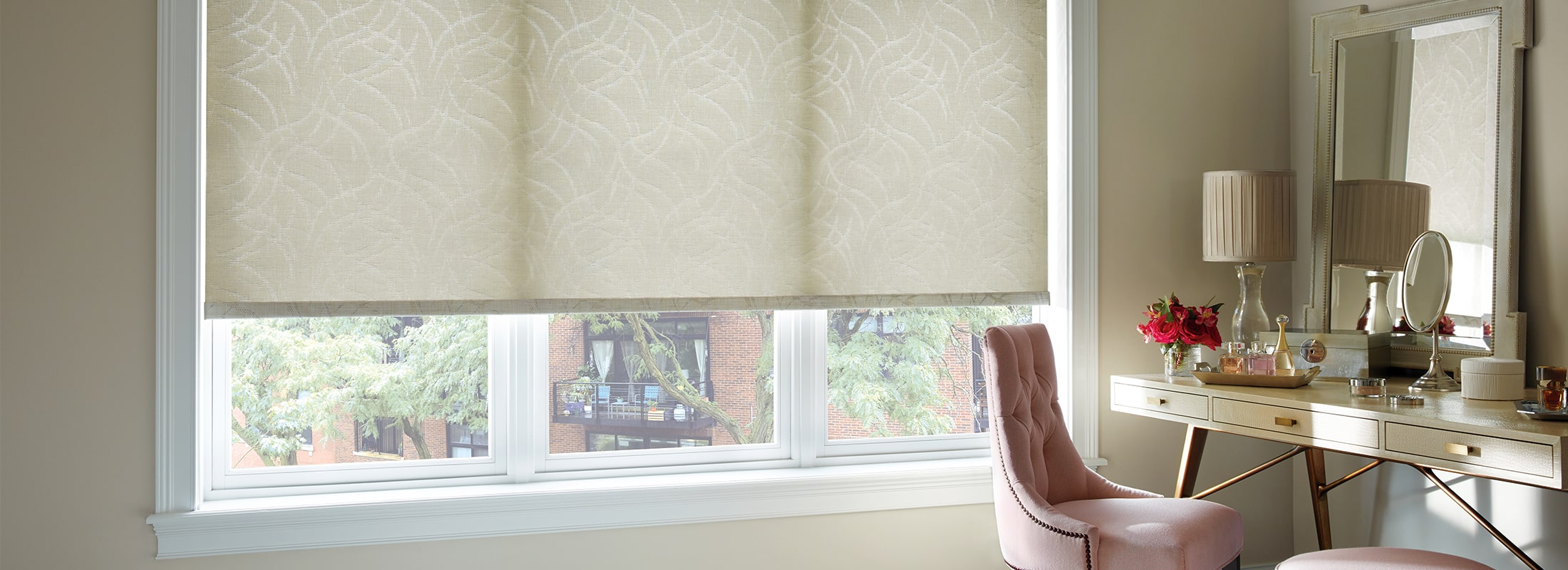 woven fabric window shades