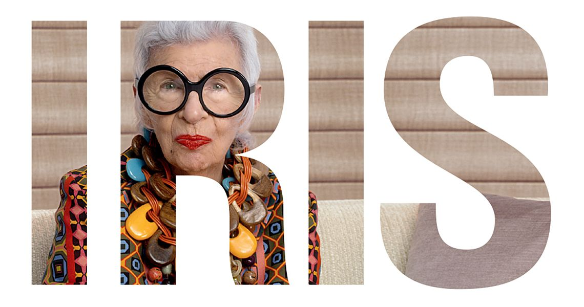 Iris Apfel + Hunter Douglas