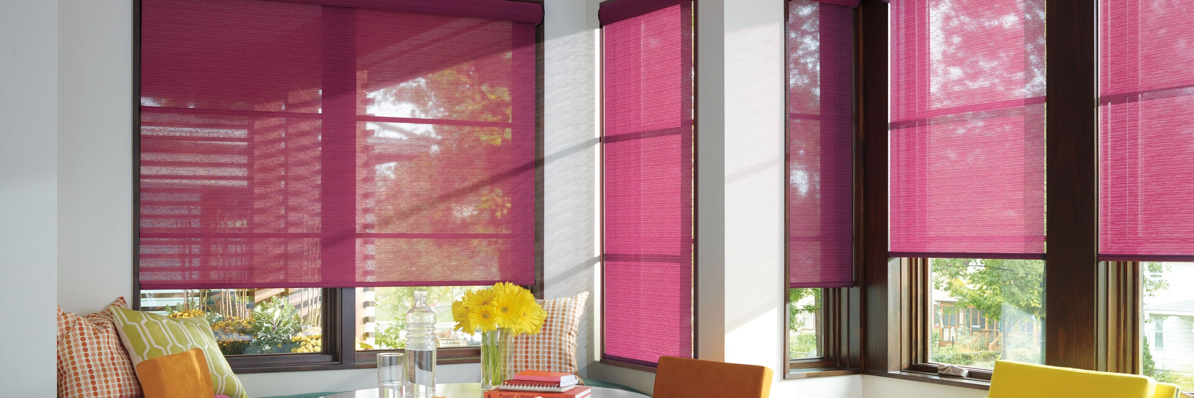 af fabric roller cover colourful blinds window