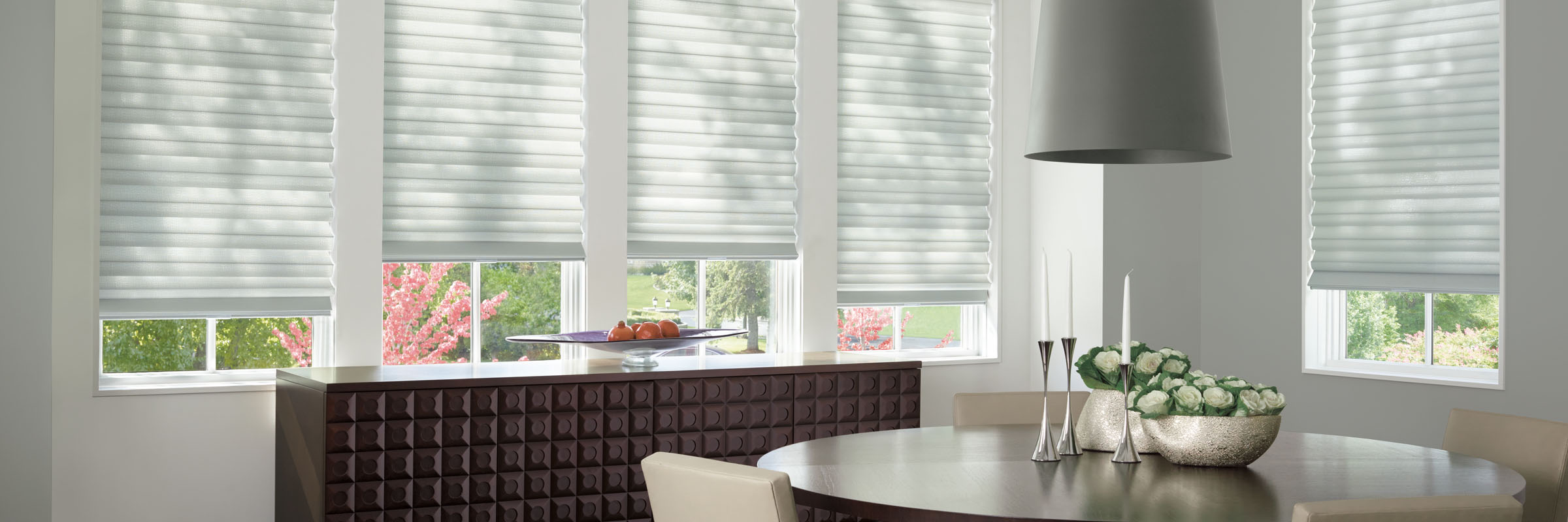Soft shades in Sloan Titanium – Solera
