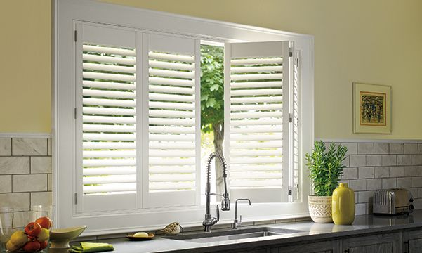 Palm Beach Shutters in Kitchen