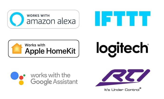 Logos for PowerView Compatible Systems