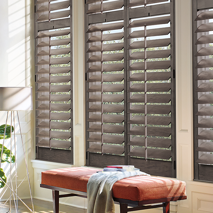 Custom Shutters and bench