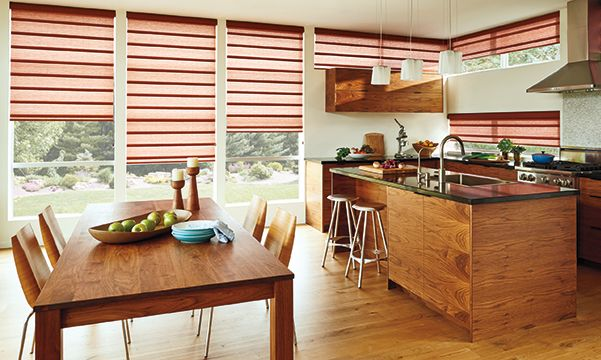 Vignette Roman Kitchen Shades