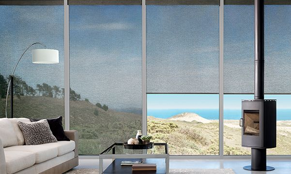 Alustra woven textures roller shades