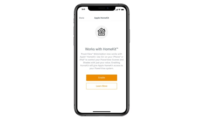 Apple HomeKit on iPhone