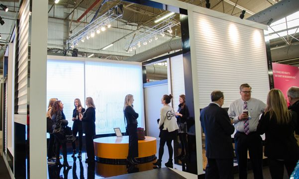 Architectural Digest Show crowd
