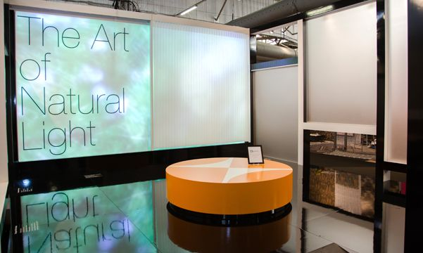 Hunter Douglas Architectural Digest Show display