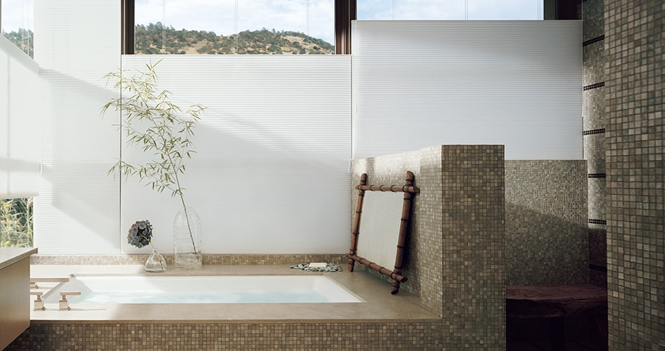 Bathroom Window Treatment Ideas Hunter Douglas