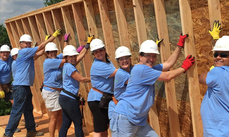 Corporate Responsibility with Habitat for Humanity