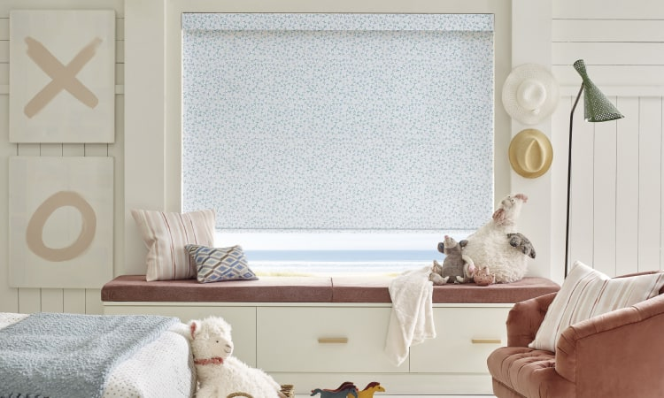 Design Studio Roller Shades in kids room