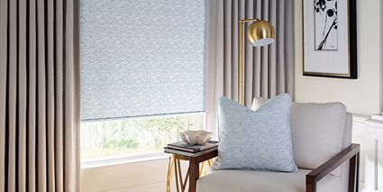 Design Studio Roller Shades with Design Studio Side Panels