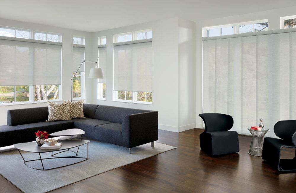 Designer Screen Shades Colors and Textures