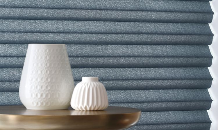 Different styles of roman shades  - Cellular Construction - Solera