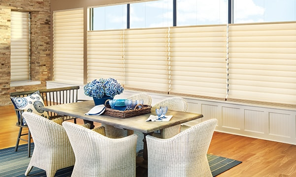 Dining Room Window Treatments Hunter Douglas