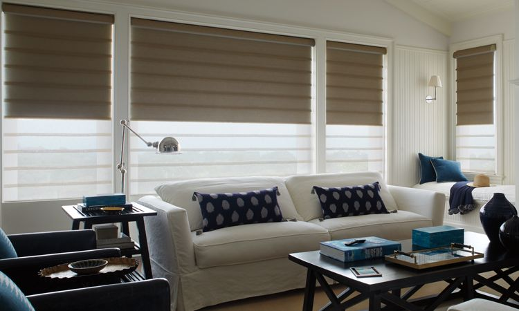 room darkening shades - Vignette Duolite Shades