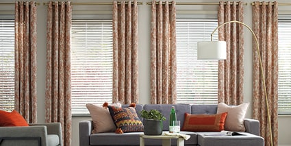 Everwood Alternative Wood Blinds with Design Studio Side Panels
