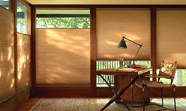home office window shades