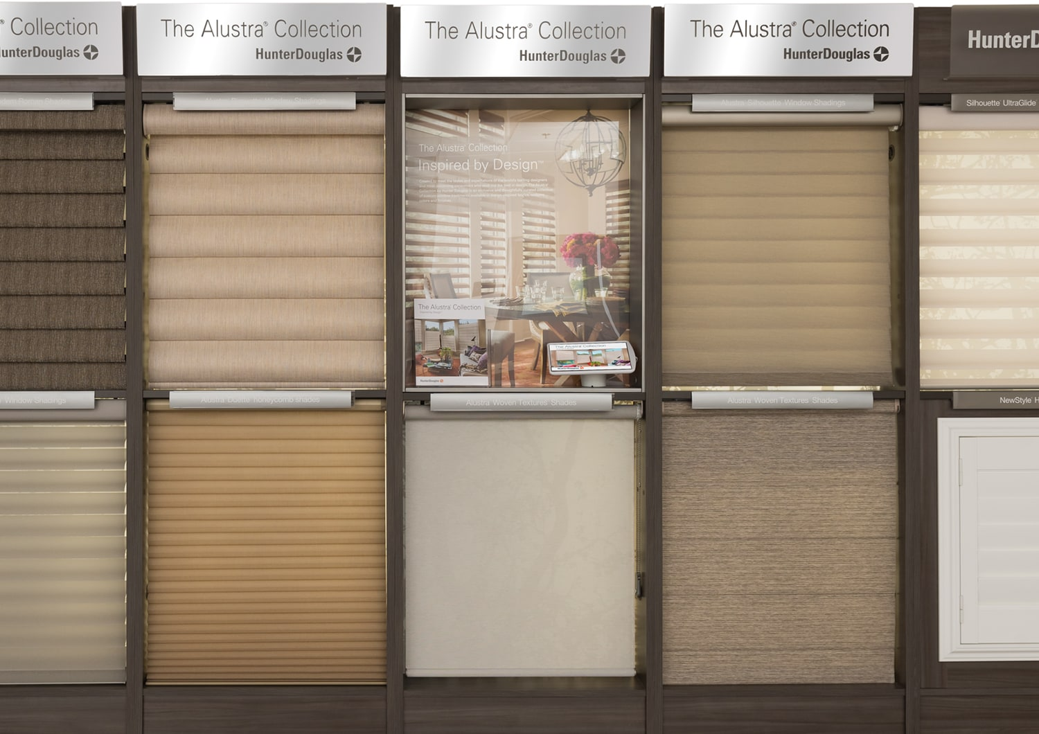 Hunter Douglas kiosk