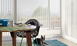 Luminette Privacy Sheers on Large Windows
