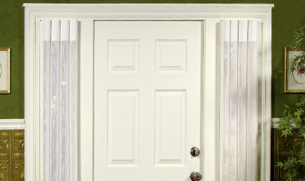 sidelight privacy sheers