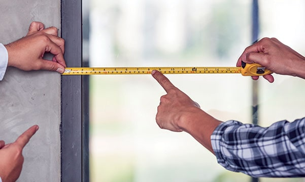 measuring for window treatments