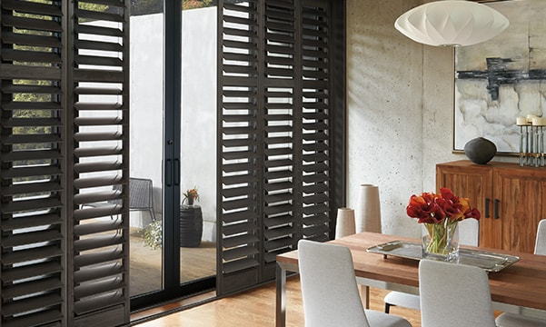 NewStyle Hybrid Shutters on French Doors