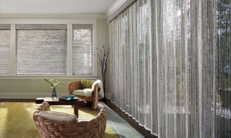 Window Treatments For Patio Sliding Glass Doors Hunter Douglas - Hunter douglas blinds for patio doors