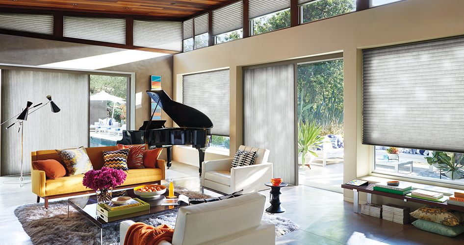 Window Treatments for Patio & Sliding Glass Doors | Hunter