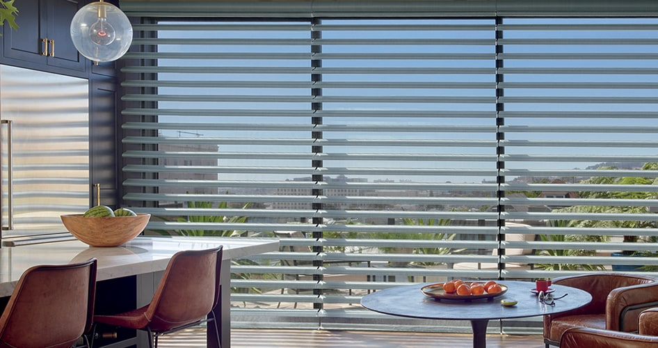 Pirouette ClearView Window Shades