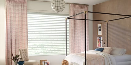 Pirouette Window Shadings with Design Studio Side Panels