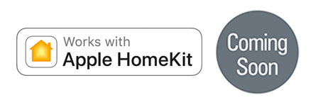 PowerView works with Apple® HomeKit™
