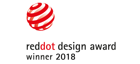 Red Dot Design Award winner 2018