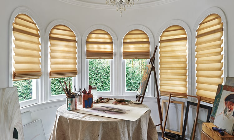 Different Types Amp Styles Of Roman Shades Hunter Douglas