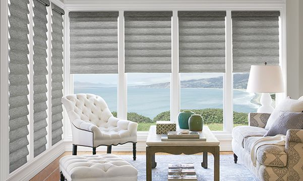 Best living room window treatments living room blinds - Living room picture window treatments ...