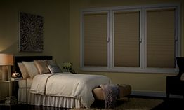 blackout shades  - Duette honeycomb shades