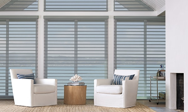 Silhouette Window Shadings in Living Room