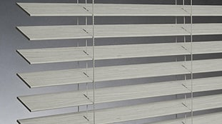 Wood Blinds close up