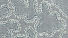 Design Studio Drapery in Dotted Leaf Slate Gray - thumb