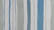 Design Studio Drapery in Garden Stripe Green/Blue - thumb