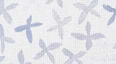 Design Studio Roller Shades in Floral Stamp Gray/Blue - thumb