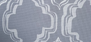 Design Studio Roller Shades in Ornament Storm Gray - thumb mobile