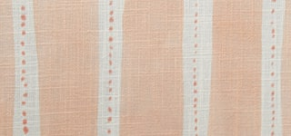 Design Studio Roman Shades in Dotted Stripe Peach - thumb mobile