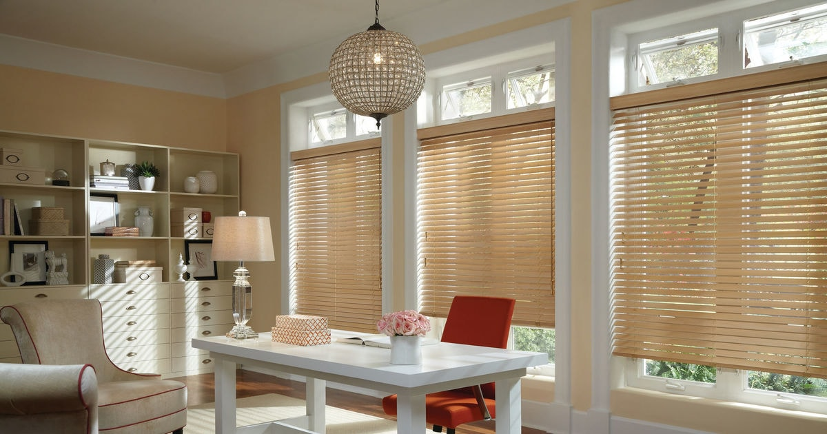 Attrayant Home Office Window Treatment Photos