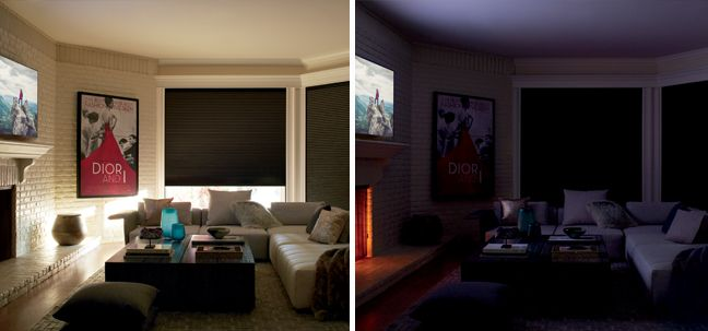 Duette Honeycomb Shades with the LightLock System